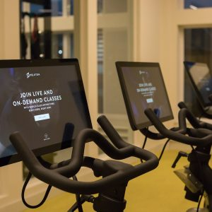 Looking for a workout? Find one in the fitness center at Heirloom Flats, apartments in Bloomfield, CT with an onsite gym.