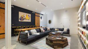 indoor amenities at Heirloom Flats